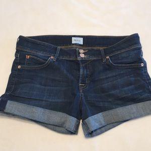 Hudson croxley mid thigh Jean shorts 29